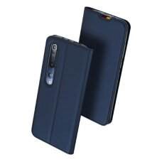 DUX DUCIS Skin Pro atverčiamas dėklas Xiaomi Mi 10 Pro / Xiaomi Mi 10 mėlynas (ctz011) UCS106