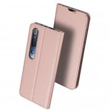 DUX DUCIS Skin Pro atverčiamas dėklas Xiaomi Mi 10 Pro / Xiaomi Mi 10 rožinis
