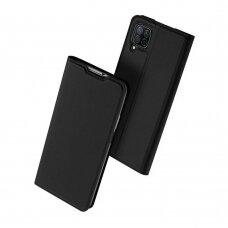 Dux Ducis Skin Pro Atverčiamas Apsauginis Dėklas Huawei P40 Lite / Nova 7I / Nova 6 Se Juodas