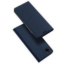 Dux Ducis Skin Pro Atverčiamas Dėklas Huawei Y5P Mėlynas