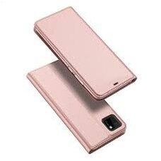 Dux Ducis Skin Pro Atverčiamas Dėklas Huawei Y5P Rožinis