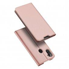 Atverčiamas dėklas DUX DUCIS Skin Pro  Samsung Galaxy A11 / M11 Rožinis