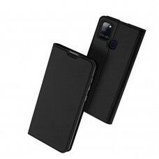 Dux Ducis Skin Pro Atverčiamas Dėklas Samsung Galaxy A21S juodas