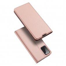 Dux Ducis Skin Pro Atverčiamas Dėklas Samsung Galaxy A41 Rožinis
