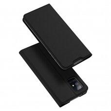 DUX DUCIS Skin Pro atverčiamas dėklas Samsung Galaxy A51 5G juodas UCS025
