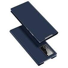 Eko Odos Atverčiamas Dėklas Dux Ducis Skin Pro Samsung Galaxy Note 20 Mėlynas