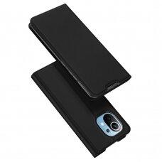 Atverčiamas dėklas DUX DUCIS Skin Pro  Xiaomi Mi 11 Juodas