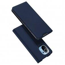 Atverčiamas dėklas DUX DUCIS Skin Pro Xiaomi Mi 11 Mėlynas