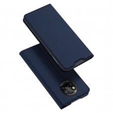 Dėklas DUX DUCIS Skin Pro Bookcase type case for Xiaomi Poco M3 / Xiaomi Redmi 9T Tamsiai mėlynas