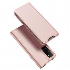 Dėklas DUX DUCIS Skin Pro Bookcase type case for Xiaomi Poco M3 / Xiaomi Redmi 9T Rožinis