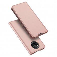 Dux Ducis Skin Pro Bookcase Type Case skirta Xiaomi Poco X3 Nfc Pink