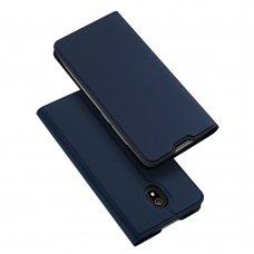 """Atverčiamas dėklas """"DUX DUCIS Skin Pro"""" PU oda Xiaomi redmi 8A mėlynas (qew24) UCS115"""