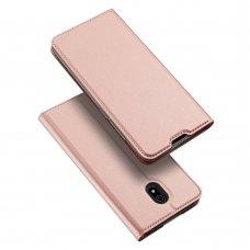 """Atverčiamas dėklas """"DUX DUCIS Skin Pro"""" PU oda Xiaomi redmi 8A rožinis (qew24) UCS115"""