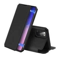 DUX DUCIS Skin X atverčiamas dėklas Samsung Galaxy S10 Lite juodas