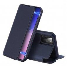 DUX DUCIS Skin X atverčiamas dėklas Samsung Galaxy S10 Lite mėlynas (ctz004) UCS005