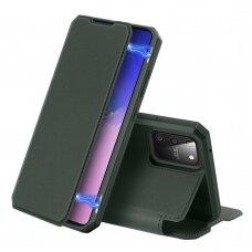 DUX DUCIS Skin X atverčiamas dėklas Samsung Galaxy S10 Lite žalias