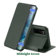 DUX DUCIS Skin X atverčiamas dėklas Samsung Galaxy S20 žalias UCS003