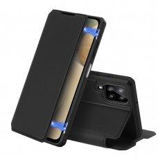 Atverčiamas dėklas DUX DUCIS Skin X Samsung Galaxy A12 Juodas