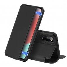 Dux Ducis Skin X atverčiamas dėklas Samsung Galaxy A31 juodas