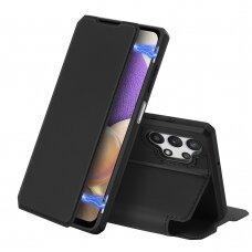 Atverčiamas dėklas DUX DUCIS Skin X Samsung Galaxy A32 5G Juodas