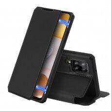 DUX DUCIS Skin X atverčiamas dėklas Samsung Galaxy A42 5G juodas