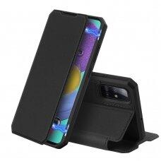 DUX DUCIS Skin X atverčiamas dėklas Samsung Galaxy A71 5G juodas UCS024