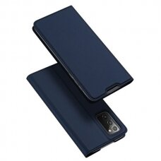 Dux Ducis Skin X Atverčiamas Dėklas Samsung Galaxy Note 20 Mėlynas