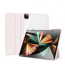 Dėklas Dux Ducis Toby iPad Pro 12.9'' 2021 Rausvas