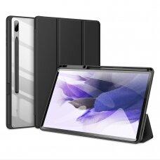 Dėklas Dux Ducis Toby Samsung Galaxy Tab S7+ (S7 Plus) Juodas