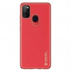 Dėklas Dux Ducis Yolo TPU+PU Samsung Galaxy M30s Raudonas