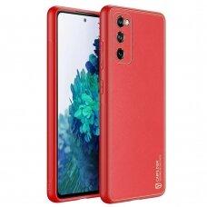 Dėklas Dux Ducis Yolo Tpu+Pu Oda For Samsung Galaxy S20 Fe 5G Raudonas