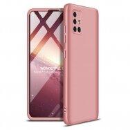 """DVIEJŲ DALIŲ PLASTIKINS DĖKLAS APSAUGANTIS PRIEKĮ IR GALĄ """"GKK 360"""" Samsung Galaxy A51 rožinis (ctz006)"""