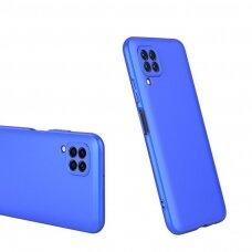 """DVIEJŲ DALIŲ PLASTIKINIS DĖKLAS APSAUGANTIS PRIEKĮ IR GALĄ """"GKK 360"""" Huawei P40 Lite / Nova 7i / Nova 6 SE mėlynas (ctz012) UCS068"""