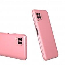"""DVIEJŲ DALIŲ PLASTIKINIS DĖKLAS APSAUGANTIS PRIEKĮ IR GALĄ """"GKK 360"""" Huawei P40 Lite / Nova 7i / Nova 6 SE rožinis (ctz012) UCS068"""