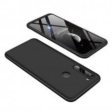 """Dvipusis Plastikinis Dėklas """"Gkk 360 Protection"""" Xiaomi Redmi Note 8T Juodas"""