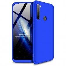 """Dvipusis Plastikinis Dėklas """"Gkk 360 Protection"""" Xiaomi Redmi Note 8T Mėlynas"""