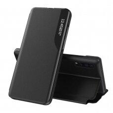 Atverčiamas dėklas Eco Leather View skirta Huawei P30 Juodas+C10607:C10660