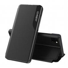 Atverčiamas Dėklas Eco Leather View Case Huawei Y5P Juodas