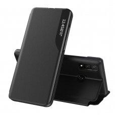 Atverčiamas dėklas Eco Leather View skirta Samsung Galaxy A40 Juodas