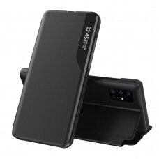 Atverčiamas Dėklas Eco Leather View Case Samsung Galaxy A51 Juodas