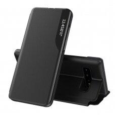 Atverčiamas Dėklas Eco Leather View Case Samsung Galaxy S10 Black