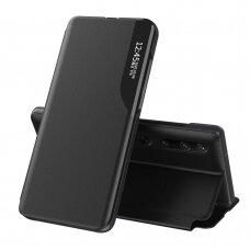 Atverčiamas Dėklas Eco Leather View Case  Xiaomi Mi 10 Pro / Xiaomi Mi 10 Juodas