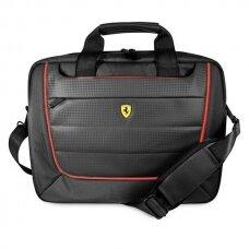 """Ferrari FECB15BK Scuderia Nešiojamojo Kompiuterio Krepšys 15"""" Juodas"""