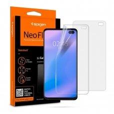 """Silikoninė Plėvelė """"Spigen Neo Flex"""" Galaxy S10+ Plus"""