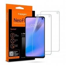 """Silikoninė Plėvelė """"Spigen Neo Flex"""" Galaxy S10"""
