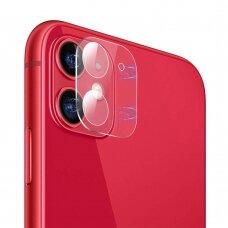 Full Kameros apsauginis stiklas 9H iPhone 11 (ctz010)