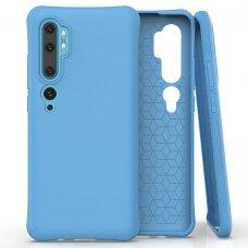 Gelinis Dėklas Soft Color Flexible skirta Xiaomi Mi Note 10 / Mi Note 10 Pro / Mi Cc9 Pro Mėlynas