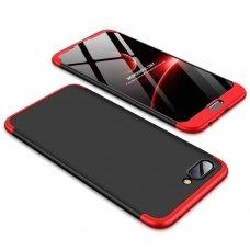 """Dviejų Dalių Plastikinis Dėklas Apsaugantis Priekį Ir Galą """"Gkk 360"""" Huawei Honor 10 Juodas-Raudonas"""