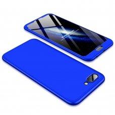 """Dviejų Dalių Plastikinis Dėklas Apsaugantis Priekį Ir Galą """"Gkk 360"""" Huawei Honor 10 Mėlynas"""