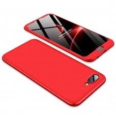 """Dviejų Dalių Plastikinis Dėklas Apsaugantis Priekį Ir Galą """"Gkk 360"""" Huawei Honor 10 Raudonas"""